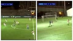 El gol del Andorra de Piqué al más puro estilo Barça: toques, más toques y definición perfecta