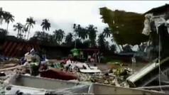 Al menos 18 muertos y más de 100 heridos tras estrellarse un avión en la India
