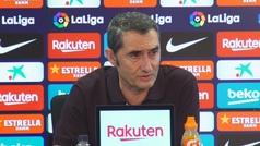 """Valverde: """"No me preocupa el Real Madrid"""""""