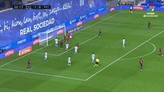 Gol de Advíncula (1-1) en el Real Sociedad 2-2 Rayo Vallecano