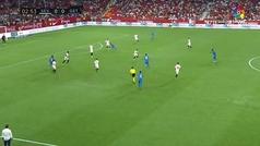 Gol de oro: Gol de Ángel (0-1) en el Sevilla 0-2 Getafe