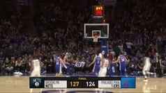 Sixers 124-127 Nets
