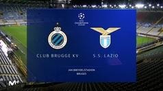 Champions League (J2): Resumen y goles del Brujas 1-1 Lazio