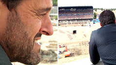 """Kiko visita por última vez el Calderón: """"Siento lágrimas de rebeldía"""""""