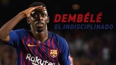 La historia de la indisciplina de Dembélé