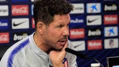 """Simeone: """"Prefiero que nos hagan menos goles y tengamos menos posesión"""""""