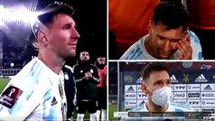 """La emoción de Messi al ofrecer la Copa América a la hinchada argentina: """"Soy muy feliz"""""""