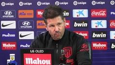 """Simeone, sobre sanción a Valverde: """"No tiene sentido desgastarme en cosas que ya sabemos que iban a"""