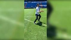 Facundo Campazzo hace de 'Pity' Martínez y hace un gol con el arco vacío