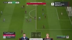 Torneo FIFA Ibai (cuartos): Resumen y goles del Alavés 2-1 Atlético