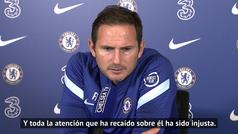 """Lampard: """"Tengo que proteger a Kepa"""""""