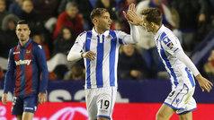 LaLiga (J12): Resumen y goles del Levante 1-3 Real Sociedad