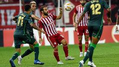 Europa League (J1): Resumen y goles del Olympiacos 0-0 Betis