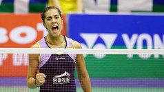 Carolina Marina se medirá a Okuhara en semifinales de Dinamarca