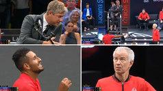 La peor pesadilla de un juez de silla: Kyrgios y McEnroe protestan 'en equipo'