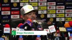 La reflexión de Maradona tras ganar su primer partido en México