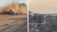 Espeluznante accidente en un rally en Texas: 29 heridos, tres en estado crítico