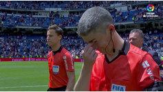 El adiós más emotivo de Undiano Mallenco: acabó el Madrid-Betis entre lágrimas
