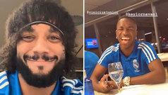 Marcelo luce un 'cambio radical' de look... ¡y Vinícius se muere de la risa!