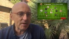 El once ideal del Barça de Maldini: muchas dudas, con Ansu Fati... y se 'carga' a Busquets