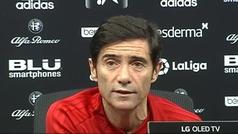 """Marcelino: """"Si fuéramos capaces de ganar en el Wanda, daríamos un paso"""""""