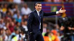 """Valverde: """"Es la primera expulsión en la que el jugador al que le hacen la falta pide perdón"""""""