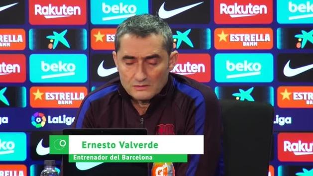 """Valverde: """"Tengo la suerte de poder decir que he entrenado a Messi"""""""