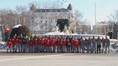 El Atlético Femenino visita Neptuno y rinde homenaje a las víctimas del Covid