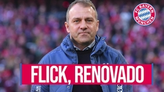 El Bayern de Múnich renueva a Hansi Flick hasta 2023