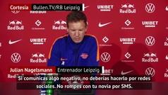 """La riña a Angeliño de su entrenador por las redes sociales: """"No le voy a castigar pero..."""""""