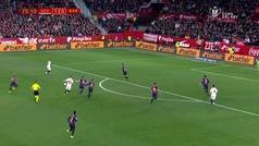 Gol de Ben Yedder (2-0) en el Sevilla 2-0 Barcelona