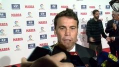 """Rubi: """"Estamos contentos de la temporada, pero en Sevilla fallamos y lo pagamos"""""""