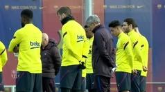 El Barcelona guarda un minuto de silencio por Kobe Bryant