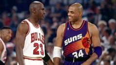Así sufrió Charles Barkley a Michael Jordan en la cancha