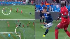 Bojan estrena su casillero en la MLS con un zapatazo pegado al poste desde 25 metros