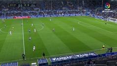 Gol de Guidetti (1-0) en el Alavés 2-2 Valladolid