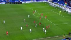 Gol de Willian José (3-2) en el Real Sociedad 3-2 Espanyol