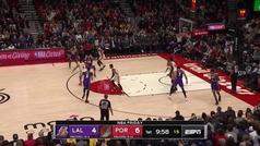 Anthony Davis se come a los Blazers con una actuación de MVP