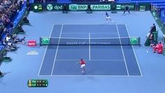 El español Marcel Granollers protagoniza el punto eterno del tenis: 68 golpes