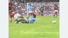 Así bajaban a Maradona