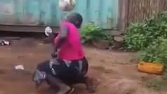 """Trump flipa con el vídeo viral de una mujer africana jugando a fútbol: """"Increíble"""""""