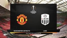 Europa League (octavos, vuelta): Resumen y goles del Manchester United 2-1 Lask Linz
