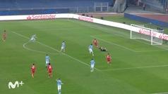 Gol de Lewandowski (0-1) en el Lazio 1-4 Bayern