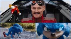 Así luce Jim Carrey como el villano Robotnik en el tráiler de la película Sonic