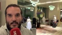 Nervios, vuelos perdidos, el UAE Tour cancelado... Así vivimos una noche surrealista