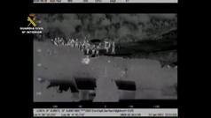 Así detuvo la Guardia Civil a 'el Melillero' tras cuatro días de persecución