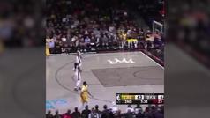La canasta más absurda del curso NBA... ¡no valió!