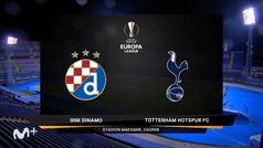 Europa League (octavos, vuelta): Resumen y goles del Dinamo Zagreb 3-0 Tottenham