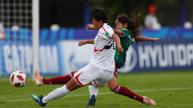 Tri femenil vence a Brasil en el Mundial Sub-20