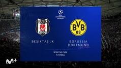 Champions League (J1): resumen y goles del Besiktas 1-2 Borussia Dortmund